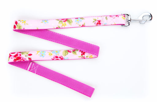 Pink Vintage Dog Lead - Pet Pooch Boutique - My Pet Gift Box