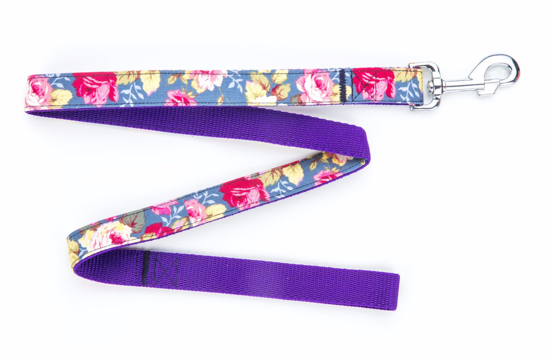 Sapphire Rose Dog Lead - Pet Pooch Boutique - My Pet Gift Box