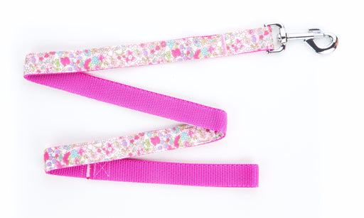Pink Teddy Dog Lead - Pet Pooch Boutique - My Pet Gift Box