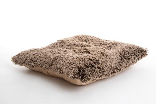 Shaggy Brown Frost Pooch Dog Pad - In Vogue Pets - My Pet Gift Box