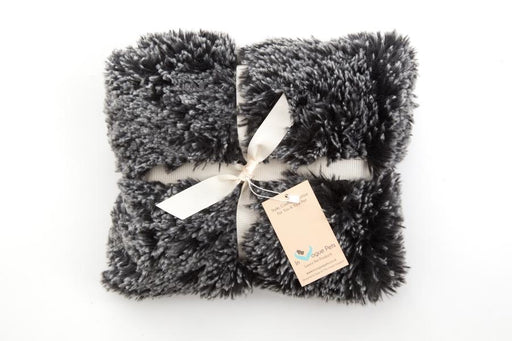 Shaggy Black Frost Dog Blanket - In Vogue Pets - My Pet Gift Box