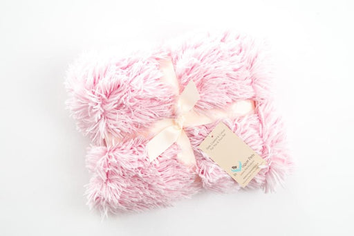 Shaggy Baby Pink Dog Blanket - In Vogue Pets - My Pet Gift Box