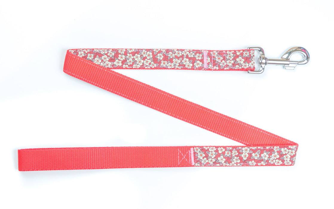 Liberty Red Dog Lead - Pet Pooch Boutique - My Pet Gift Box