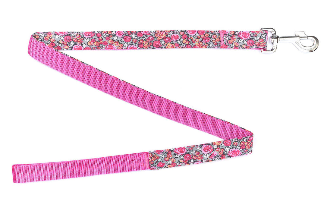 Handmade Woodland Rose Dog Lead - Pet Pooch Boutique - My Pet Gift Box