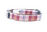 Acorn Barkberry Plaid Dog Collar