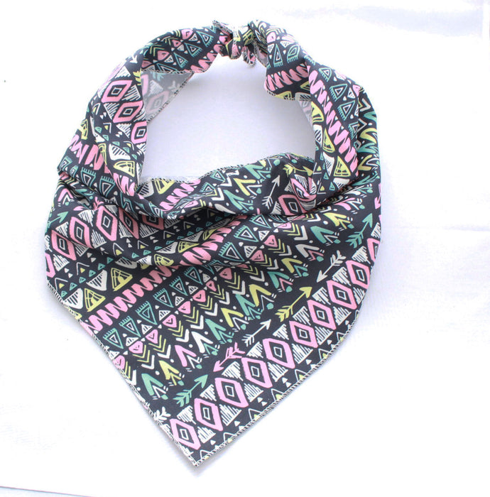 Tribal Pooch Dog Bandana - Pet Pooch Boutique - My Pet Gift Box