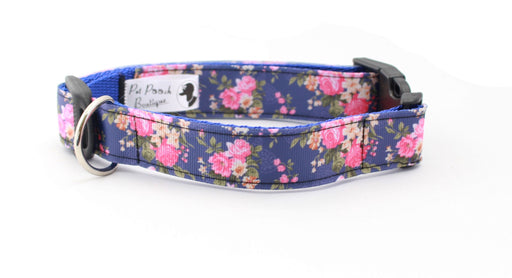Sasha Rose Dog Collar - Pet Pooch Boutique - My Pet Gift Box