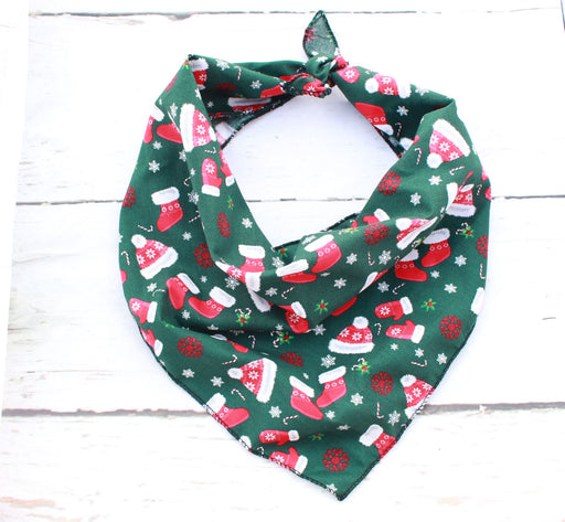 Winter Warmers Christmas Dog Bandana - Pet Pooch Boutique - My Pet Gift Box
