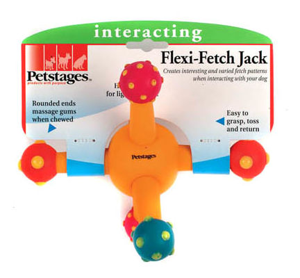 Petstages Flexi Fetch Jack Dog Toy - Vital Pet Products - My Pet Gift Box