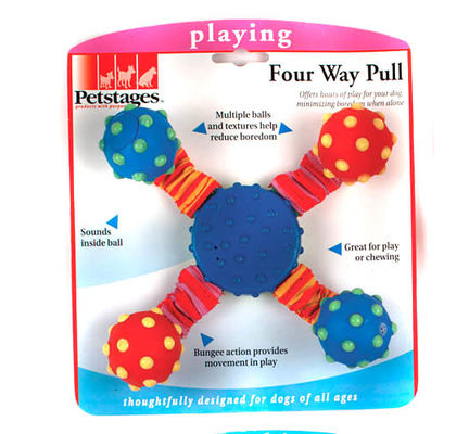Petstages Four Way Pull Dog Toy - Vital Pet Products - My Pet Gift Box