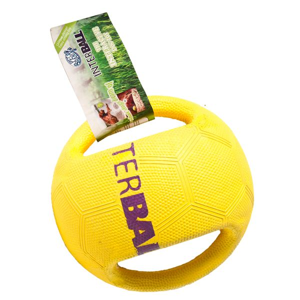 Pet Brands Interball With Swing Tag Label Medium / Large Dog Toy - Vital Pet Products - My Pet Gift Box