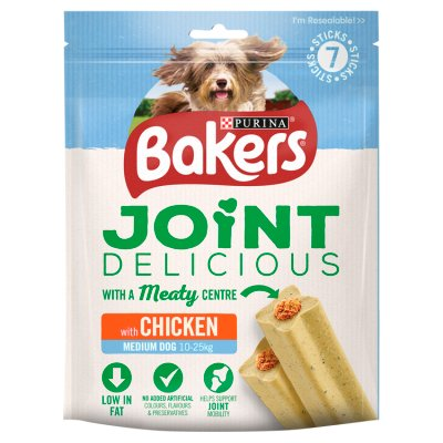 6 x Bakers Joint Delicious Medium Chicken Dog Treats 180g - Vital Pet Products - My Pet Gift Box