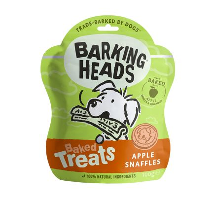 Barking Heads Baked Treats Apple Snaffles Dog Treats - Barking Heads - My Pet Gift Box