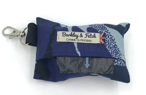 Blue Camo Poo Bag Holder - Barkley & Fetch - My Pet Gift Box