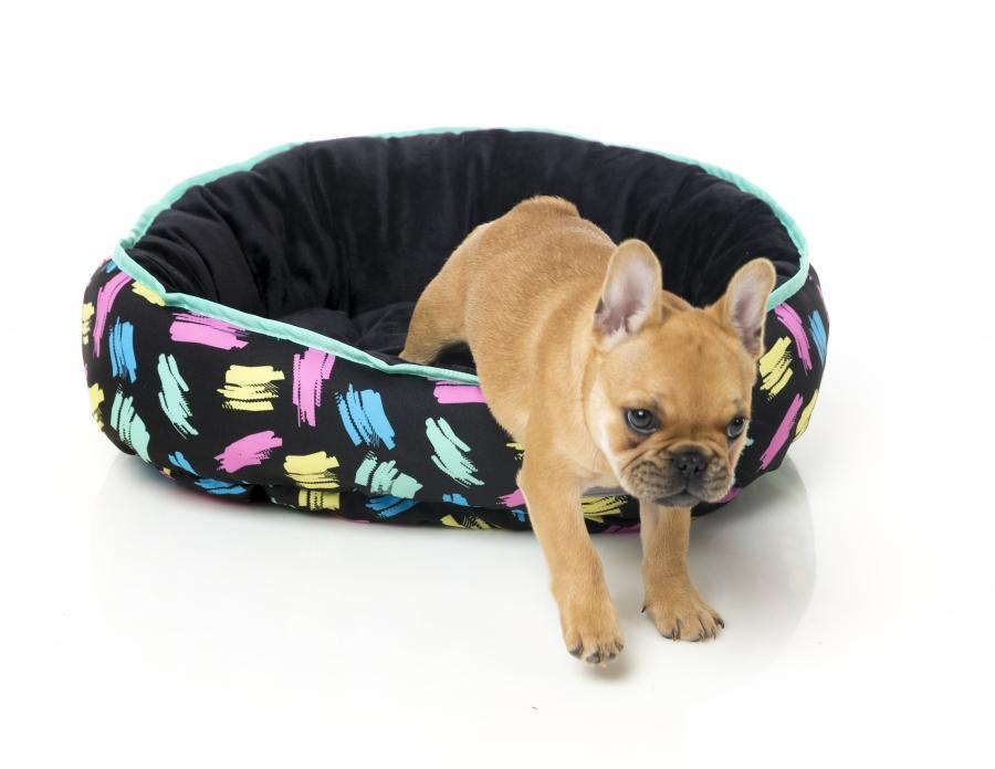 Chalkboard Reversible Dog Bed - In Vogue Pets - My Pet Gift Box