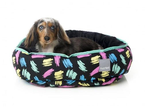 Chalkboard Reversible Dog Bed - FuzzYard - My Pet Gift Box