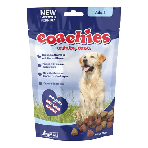8 x Coachies Adult Beef, Lamb & Chicken Dog Treats 200g - Vital Pet Products - My Pet Gift Box