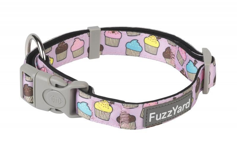 Fuzzyard Cupcakes Dog Collar - In Vogue Pets - My Pet Gift Box