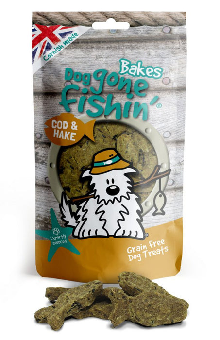 Dog Gone Fishin Baked Cod & Hake Dog Treats - Dog Gone Fishin - My Pet Gift Box