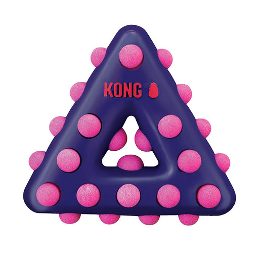 KONG Dotz Triangle Small Dog Toy - Gor Pets - My Pet Gift Box
