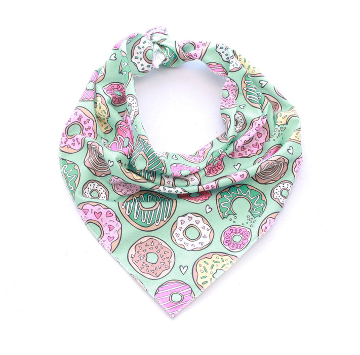 Doughnuts Are Life Dog Bandana - Pet Pooch Boutique - My Pet Gift Box