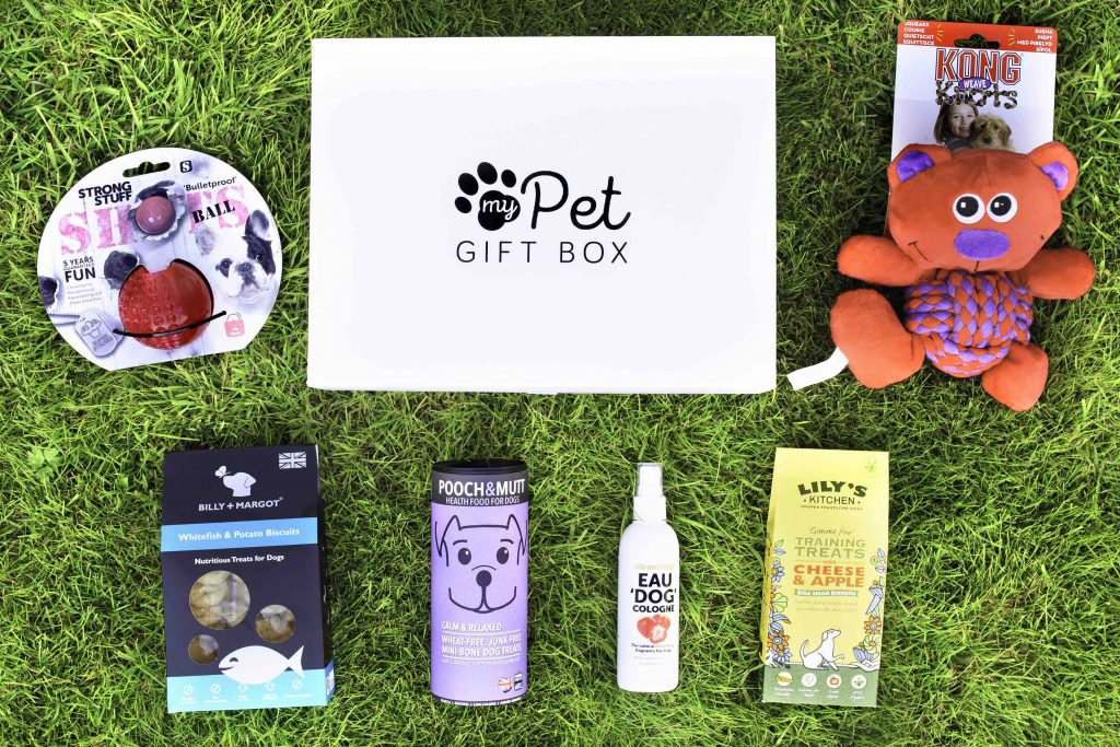 Personalised Monthly Subscription Box For Dogs - My Pet Gift Box - My Pet Gift Box