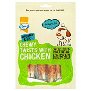 10 x Good Boy Deli Chewy Twisters Dog Treats 90g - Vital Pet Products - My Pet Gift Box