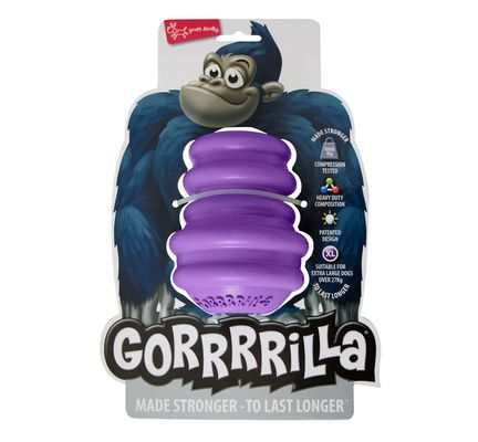 Gorrrrilla Classic Purple Dog Chew Toy Medium Dog Toy - Vital Pet Products - My Pet Gift Box