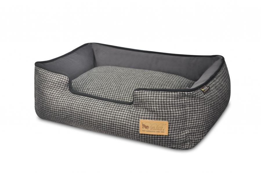 Houndstooth Lounge Dog Bed - PLAY - My Pet Gift Box