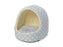 House Of Paws Fleece Star Hooded Snuggle Puppy & Kitten Bed Blue - House Of Paws - My Pet Gift Box