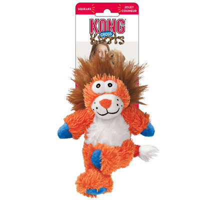 KONG Cross Knots Lion Large Dog Toy