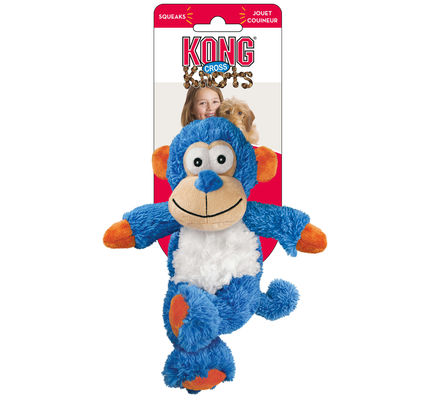 KONG Cross Knots Monkey Medium Dog Toy