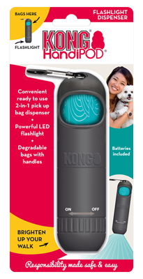 KONG HandiPod Flashlight Dispenser - Vital Pet Products - My Pet Gift Box