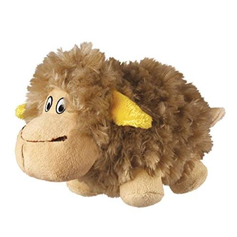 KONG Barnyard Cruncheez Sheep Dog Toy