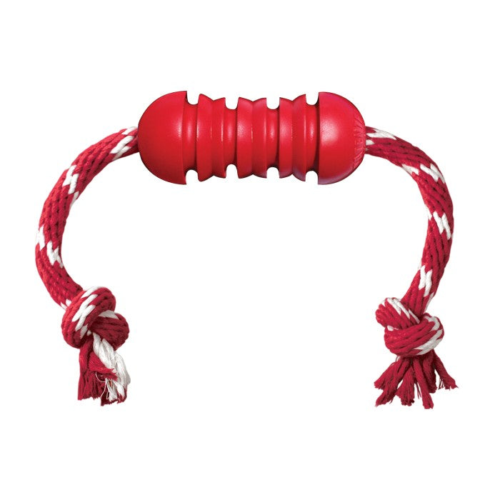 KONG Dental with Rope Medium Dog Toy - Gor Pets - My Pet Gift Box