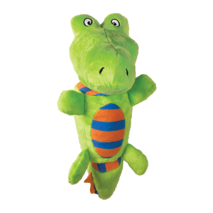 KONG Stretchezz Tugga Alligator Small Dog Toy