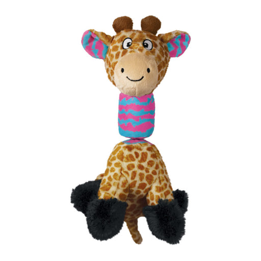 KONG Stretchezz Tugga Giraffe Small Dog Toy