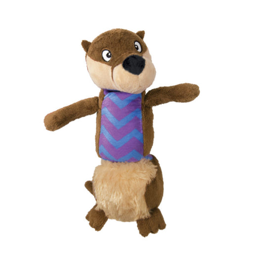 KONG Stretchezz Tugga Otter Large Dog Toy