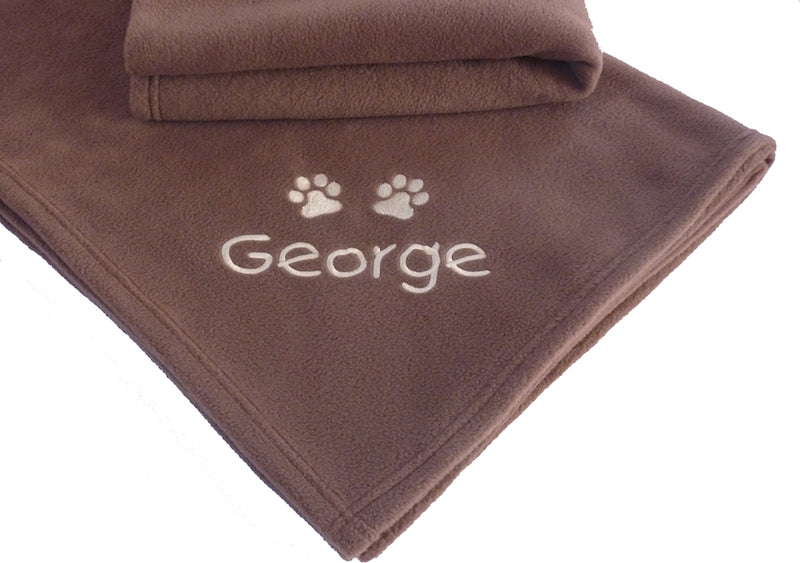 Personalised Cat Towel - Chocolate - My Posh Paws - My Pet Gift Box