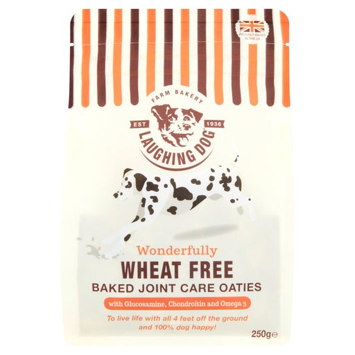 4 x Laughing Dog Wheat Free Joint Care Oaties Dog Treats, 250g - Vital Pet Products - My Pet Gift Box