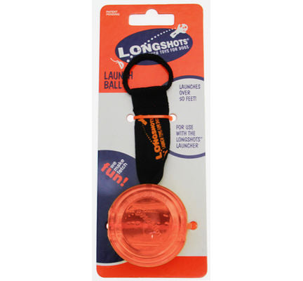 Longshots Large Launch Ball Red Dog Toy - Vital Pet Products - My Pet Gift Box