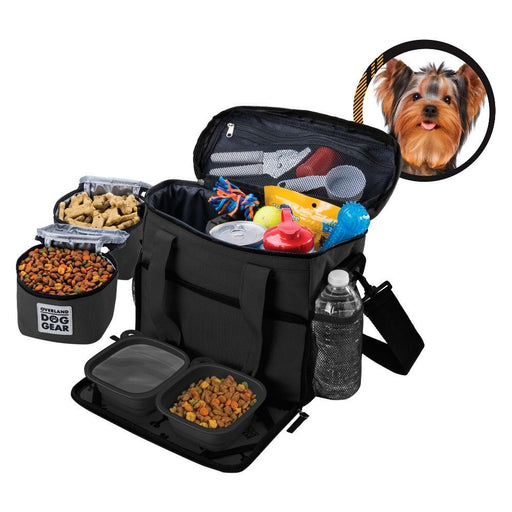 Overland Dog Gear Week Away Travel Kit Bag For Small Dogs - PJ Pet Products - My Pet Gift Box