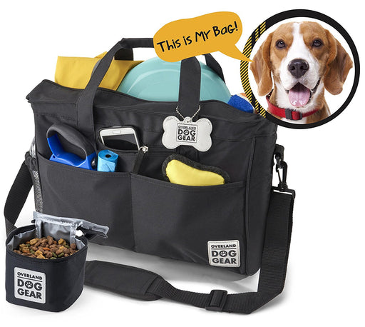 Overland Dog Gear Day Away Travel Kit Tote Bag For Dogs - PJ Pet Products - My Pet Gift Box