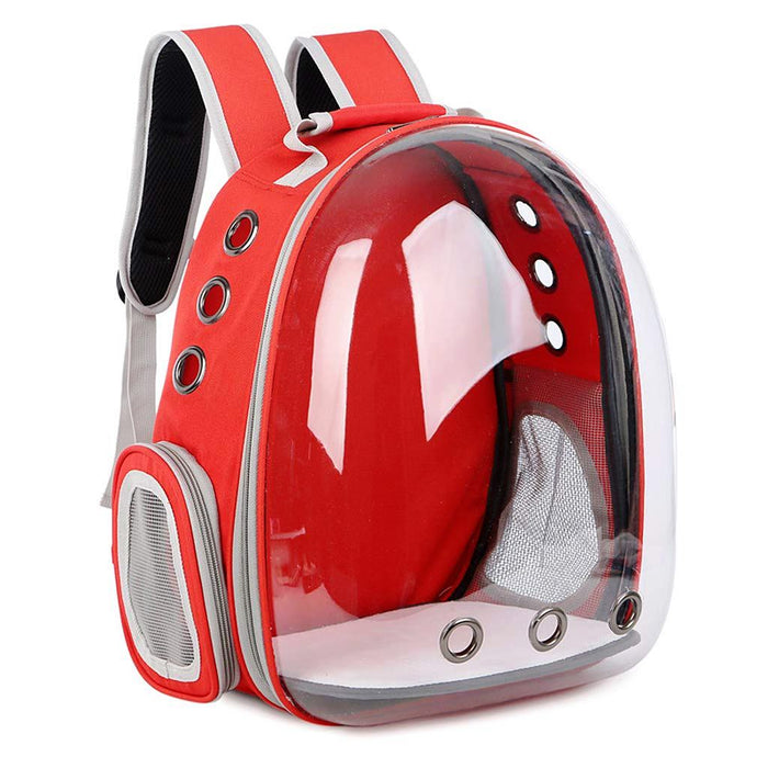 Petz-Aboard Space Capsule Red Pet Carrier - PJ Pet Products - My Pet Gift Box