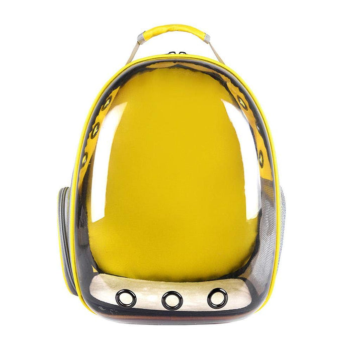 Petz-Aboard Space Capsule Yellow Pet Carrier - PJ Pet Products - My Pet Gift Box