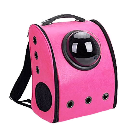 Petz-Aboard Space Portal Back Pack Pink Pet Carrier - PJ Pet Products - My Pet Gift Box