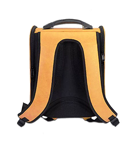 Petz-Aboard Space Portal Back Pack Yellow Pet Carrier - PJ Pet Products - My Pet Gift Box