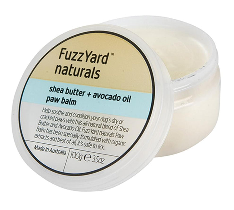 Fuzzyard Paw Balm, Shea Butter + Avocado Oil 100g - In Vogue Pets - My Pet Gift Box