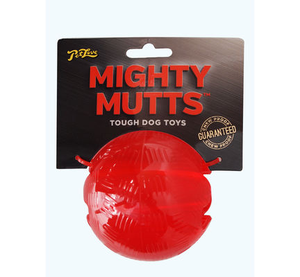 PetLove Mighty Mutts Rubber Ball Medium Dog Toy - Pet Love - My Pet Gift Box