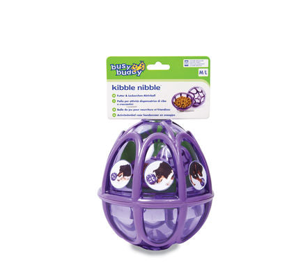 PetSafe Busy Buddy Kibble Nibble Feeder Ball Medium / Large Dog Toy - Vital Pet Products - My Pet Gift Box